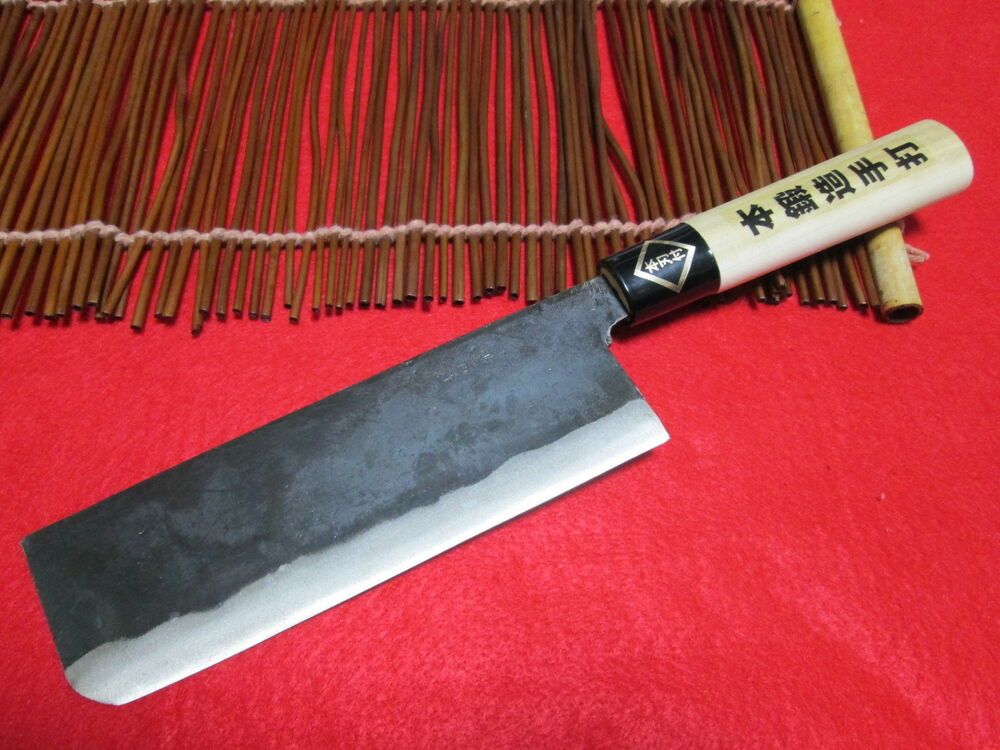 made in japan japanese handmade chef knife sakai cyounsai knives nakiri kasumi ebay. Black Bedroom Furniture Sets. Home Design Ideas