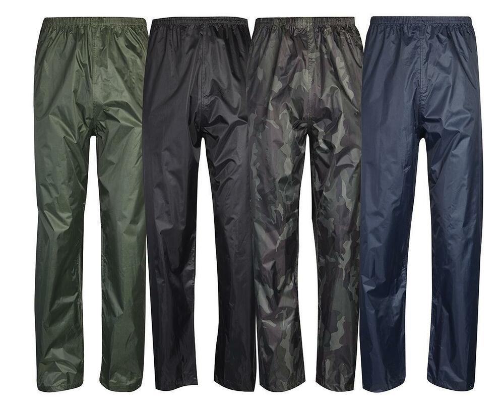 mens womens waterproof over trousers fishing walking