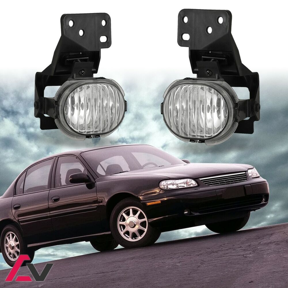 1997-2003 Chevy Malibu Fog Lights Replacement Lamps PAIR
