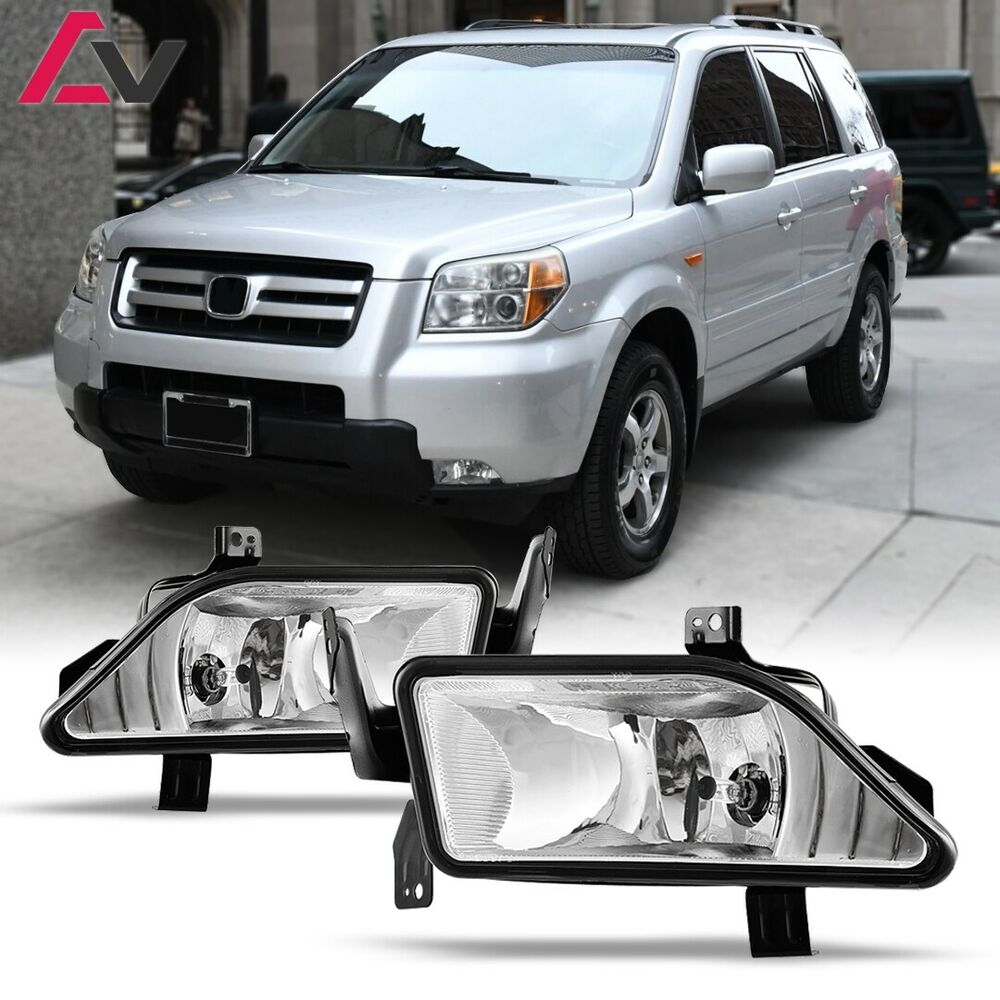 2006 2008 Honda Pilot Fog Lights Replacement Lamps Pair Ebay