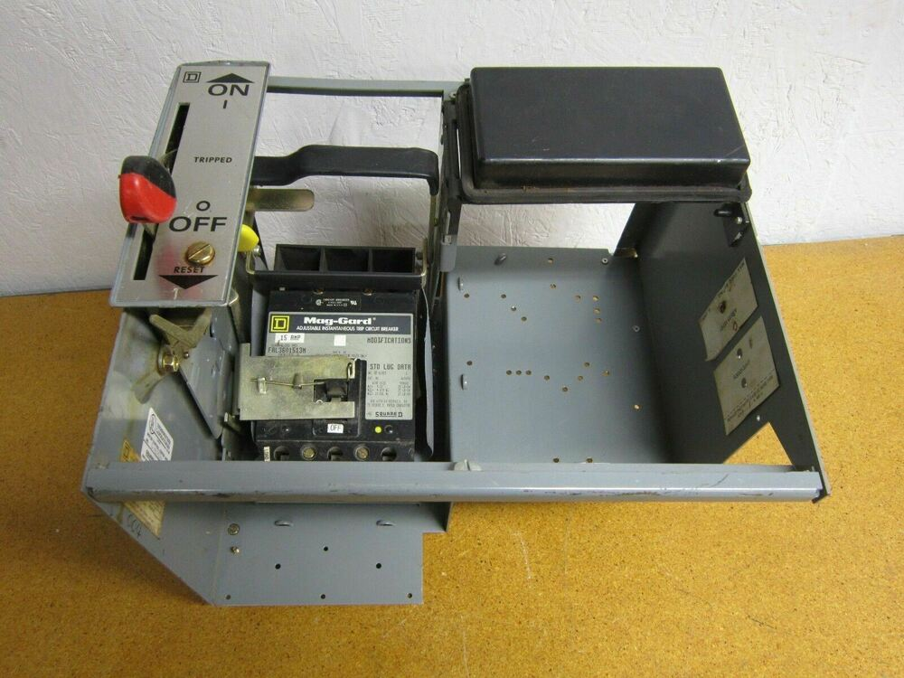Square d motor control center unit 7 5hp 480vac w Square d motor control center