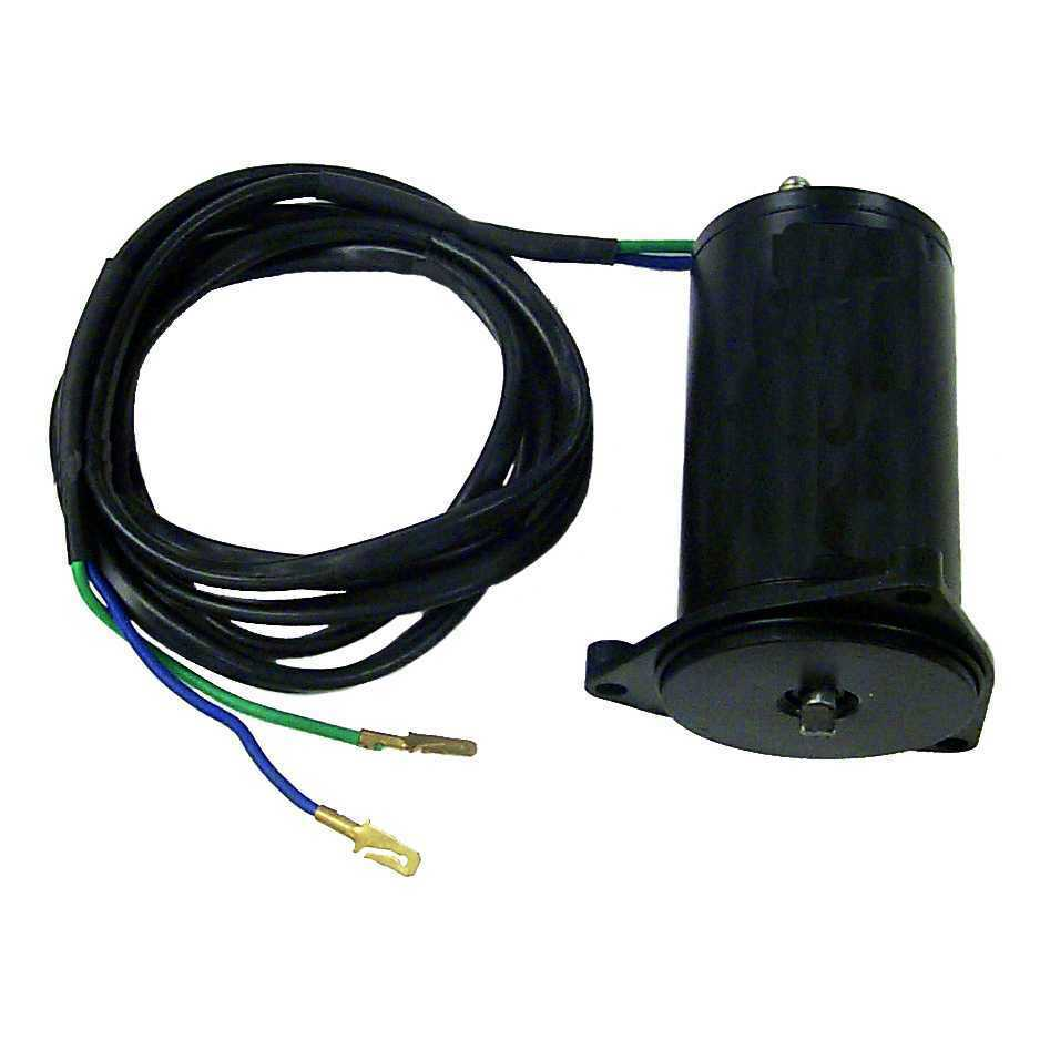 Sierra 18 6759 power tilt and trim motor for johnson for Power trim motor for johnson outboard