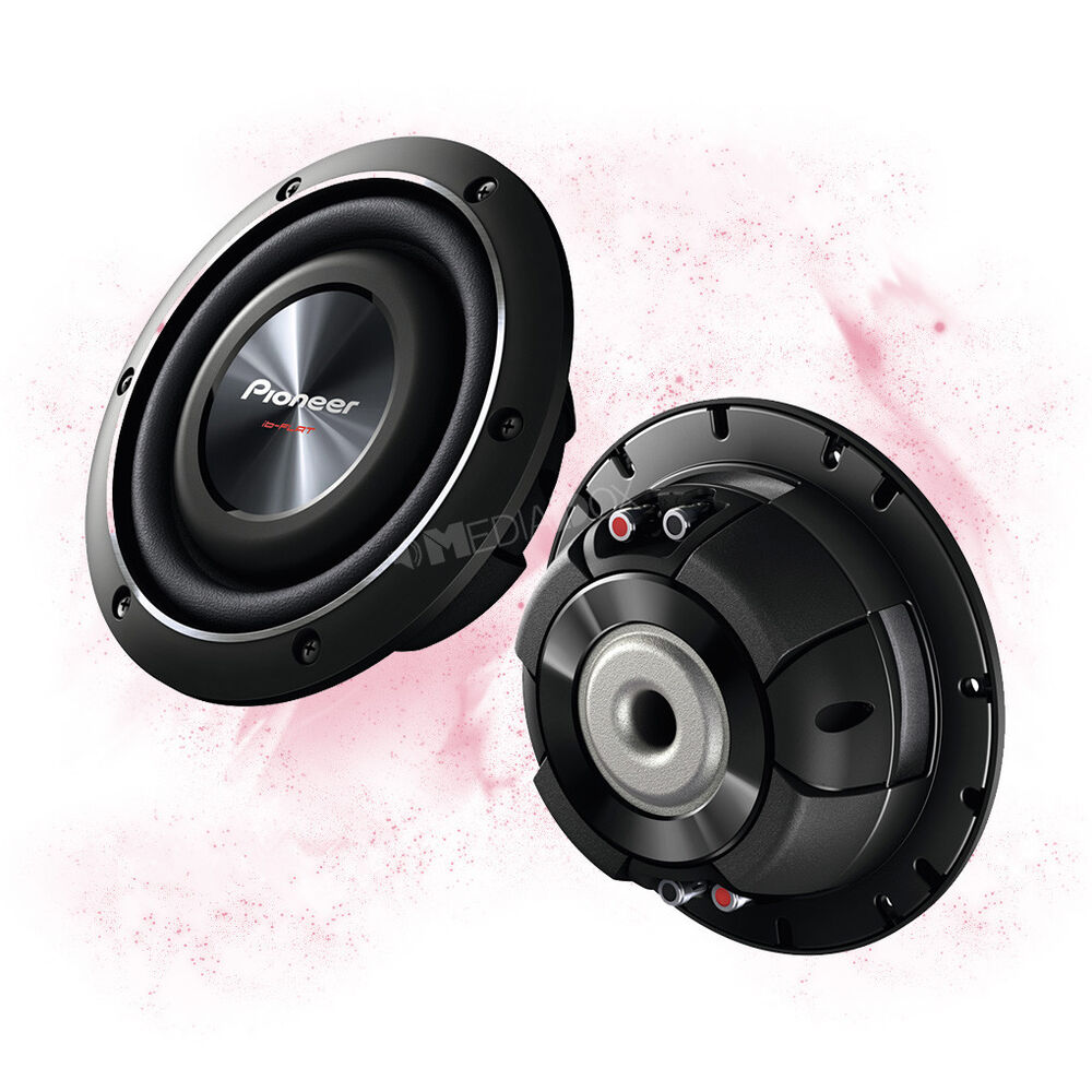 pioneer ts sw2002d2 20cm 200mm car flach bass subwoofer. Black Bedroom Furniture Sets. Home Design Ideas
