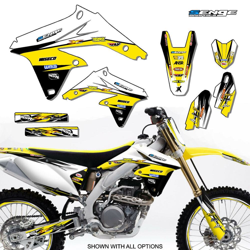 1996 1997 1998 rm 125 250 graphics kit rm125 rm250 suzuki deco decals stickers ebay