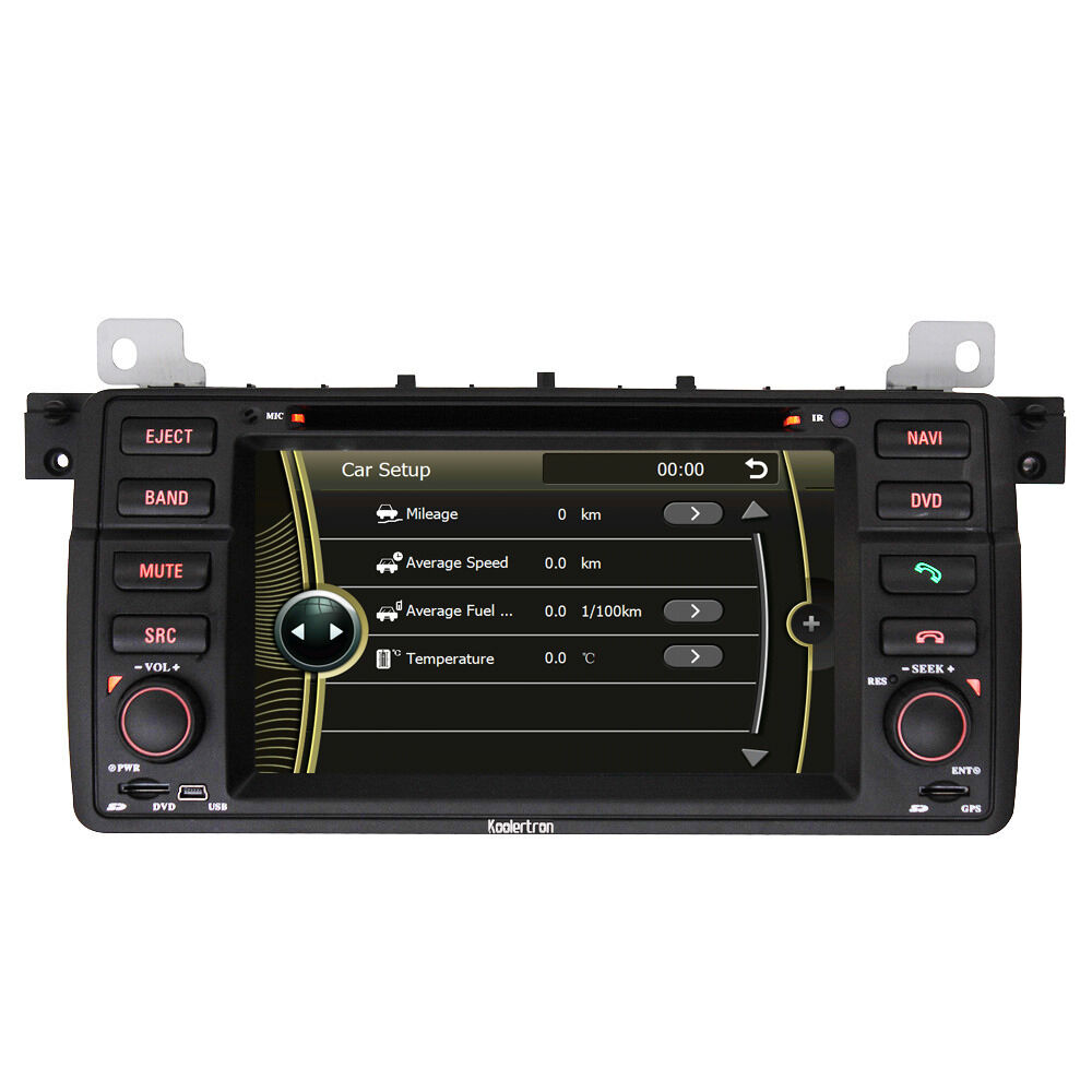 1din stereo gps satnavi dvd radio headunit for bmw e46. Black Bedroom Furniture Sets. Home Design Ideas
