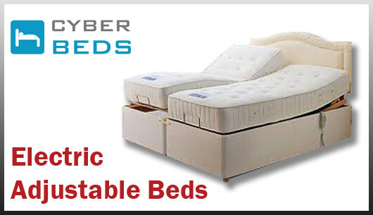 Adjustable Beds With Drawers : Ft king size adjustable bed pocket sprung mattress and