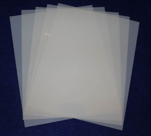 Mylar 14 Mil Blank Sheets 5 Pce 8 5 Quot X 11 Quot Quilting