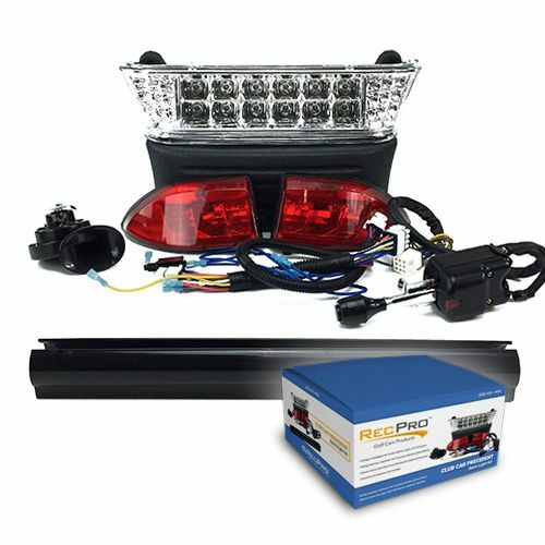 Electric Motor Kits For Golf Carts: Club Car Precedent Electric Golf Cart Deluxe LED Light Kit