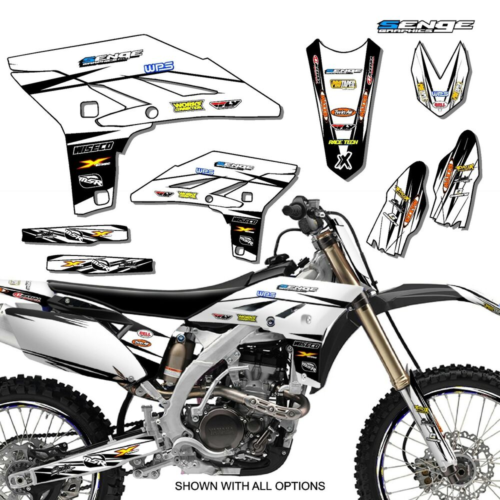 2005 yz 250f 450f graphics kit yz250f yz450f yamaha deco for Sticker deco