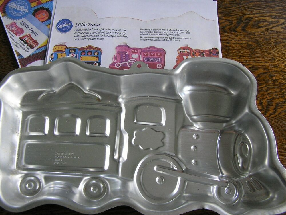 Wilton Train Cake Pan Instructions