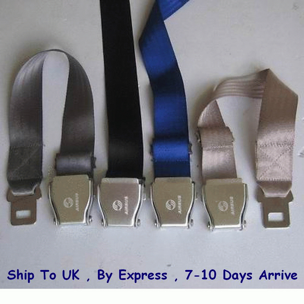 Airline Airplane Seat Belt Buckle Fashion Belt Adjust
