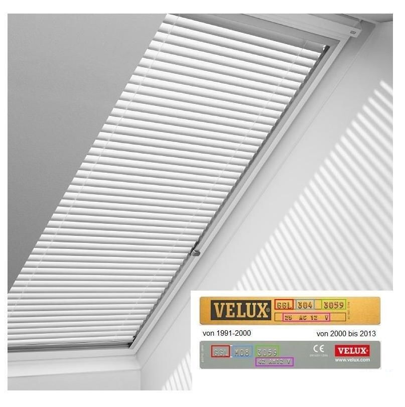 original velux jalousette pal 7001 jalousie rollo ggu ggl gpu ghu ghl gpl v21 ebay. Black Bedroom Furniture Sets. Home Design Ideas