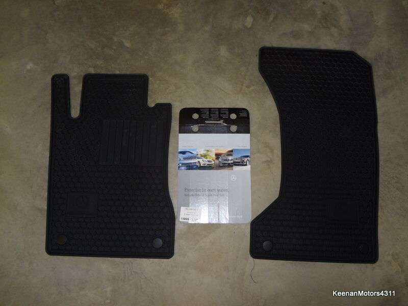 Genuine oem mercedes benz e class w211 s211 black all for Mercedes benz e350 floor mats
