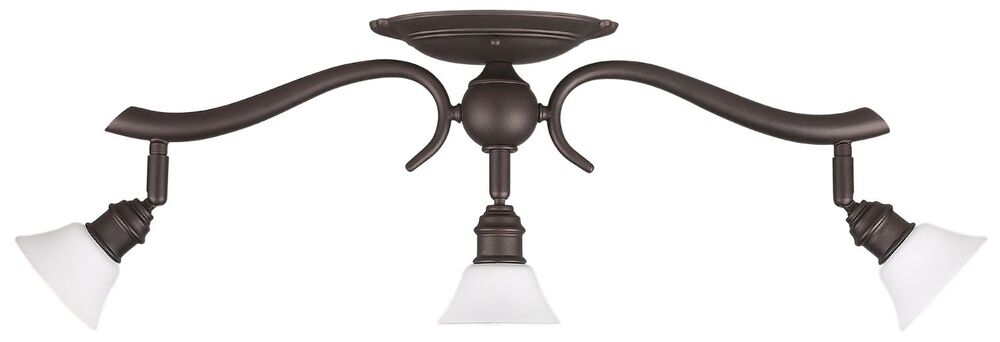 Pendant Track Lighting Menards : Oil rubbed bronze light ceiling track lighting fixture