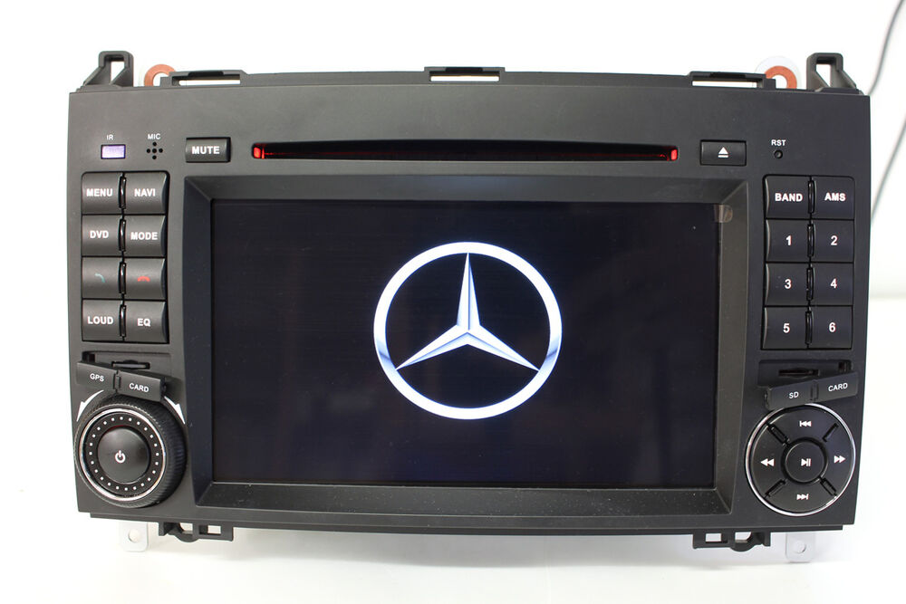 autoradio 2 din dvd gps mercedes classe a b vito sprinter navigatore mp3 hd ebay. Black Bedroom Furniture Sets. Home Design Ideas