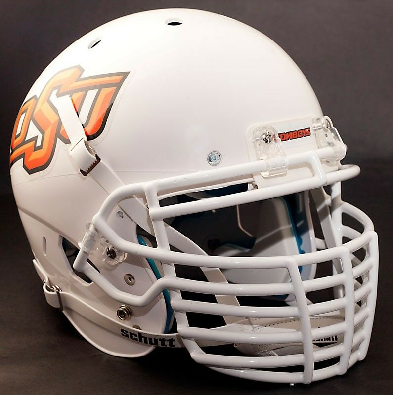 Football Helmet Grill : Custom oklahoma state cowboys schutt xp authentic