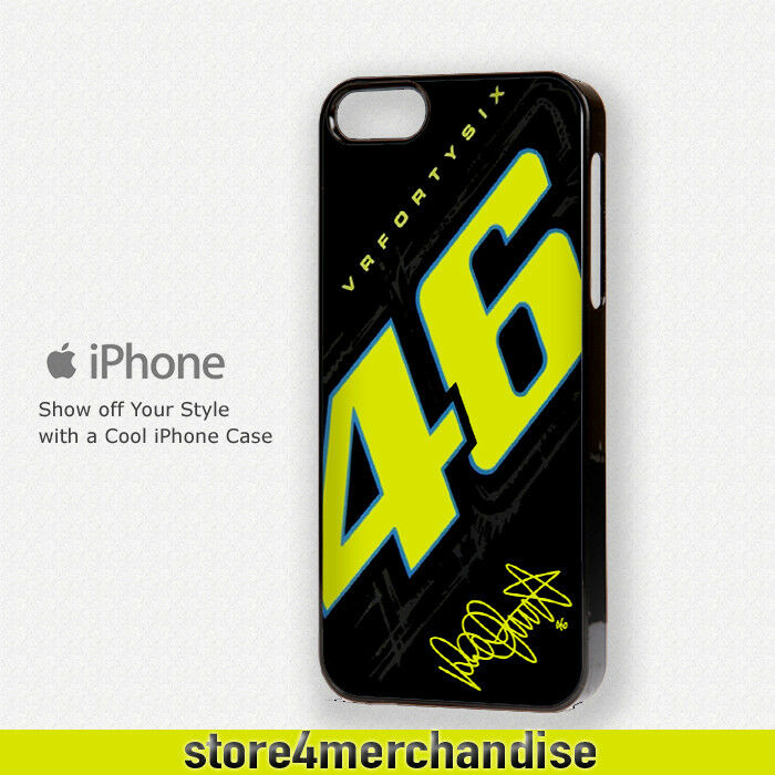 iPhone phone cases iphone 4s ebay : ... VR46 The Doctor for iPhone 4 / 4s / 5 / 5s / 5c / 6 Case Cover : eBay