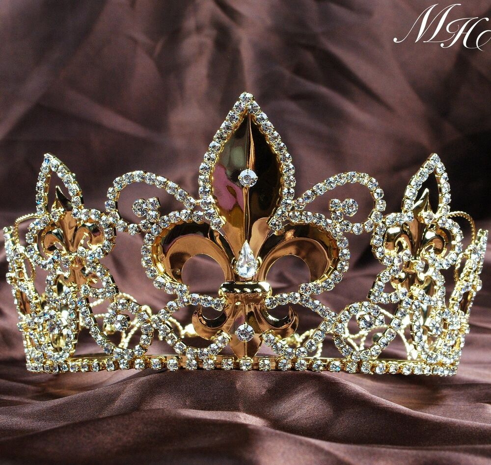 Crowns King Queen Gold...
