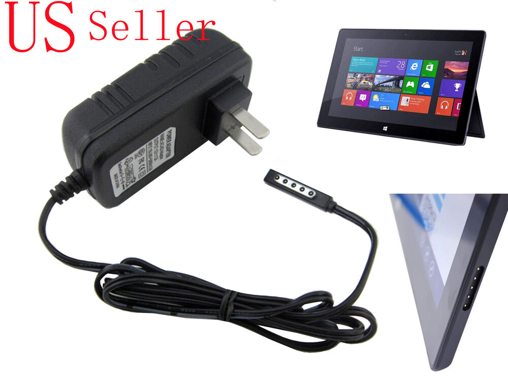 Ac Adapter Charger For Microsoft Surface 2 Tablet 32gb