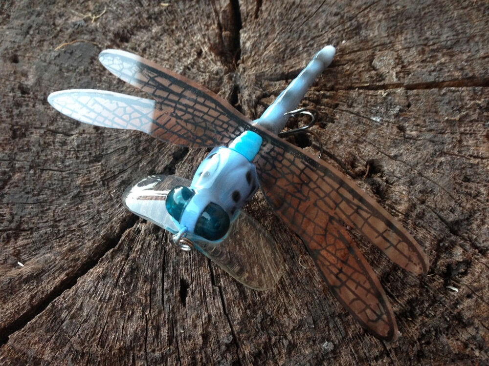 Dragonfly Dragon Fly Lure Insect Cicada Topwater Fishing