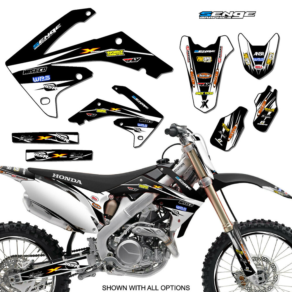 2010 2011 2012 2013 crf 250r graphics kit crf250r 250 r for Sticker deco