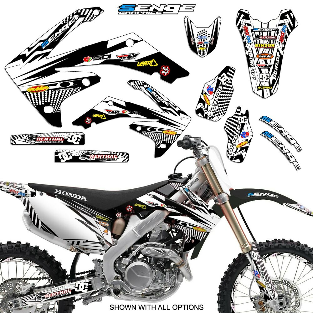 2005 2006 2007 crf 450x graphics kit 450 x decals deco for Sticker deco