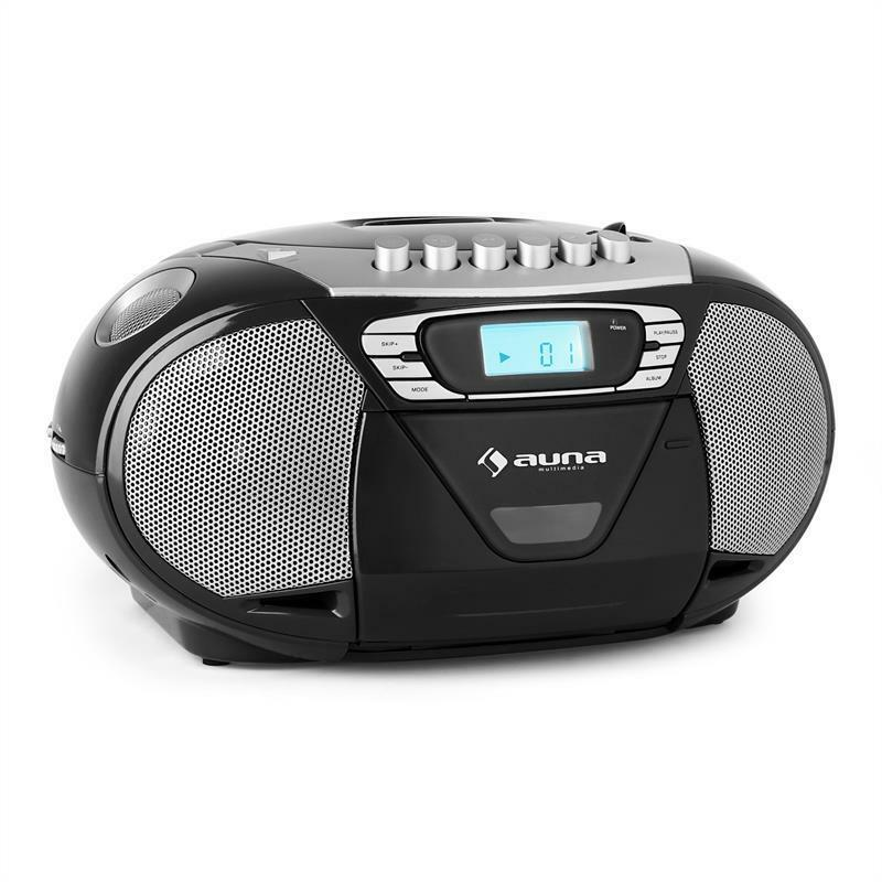portable stereo mp3 speaker cd player radio cassette. Black Bedroom Furniture Sets. Home Design Ideas