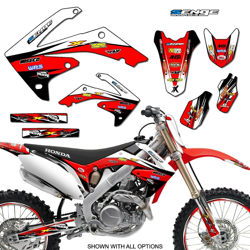 2009 2010 2011 2012 crf 450r graphics kit crf450r 450 r deco decals stickers ebay