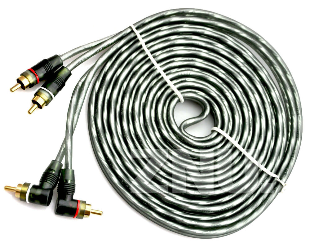 15 Wire Cable : Grey ft ch copper wire cables amplifier wiring kit