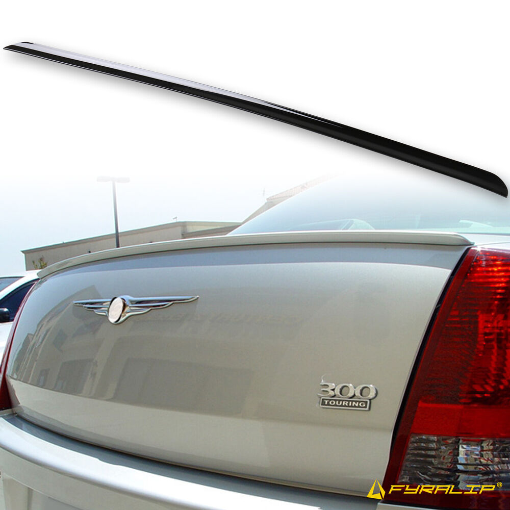 Painted For Chrysler 300 300c Srt8 Trunk Lip Spoiler