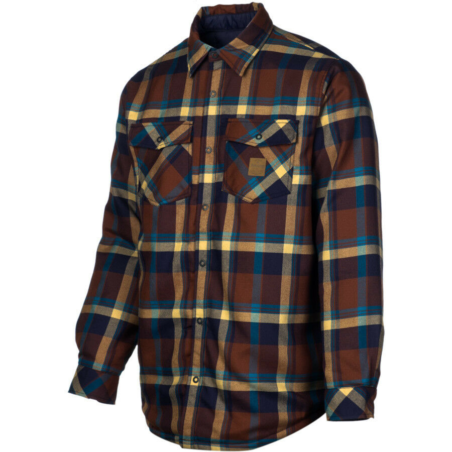 Analog variant atf insulated flannel shirt men 39 s size for Mens insulated flannel shirts