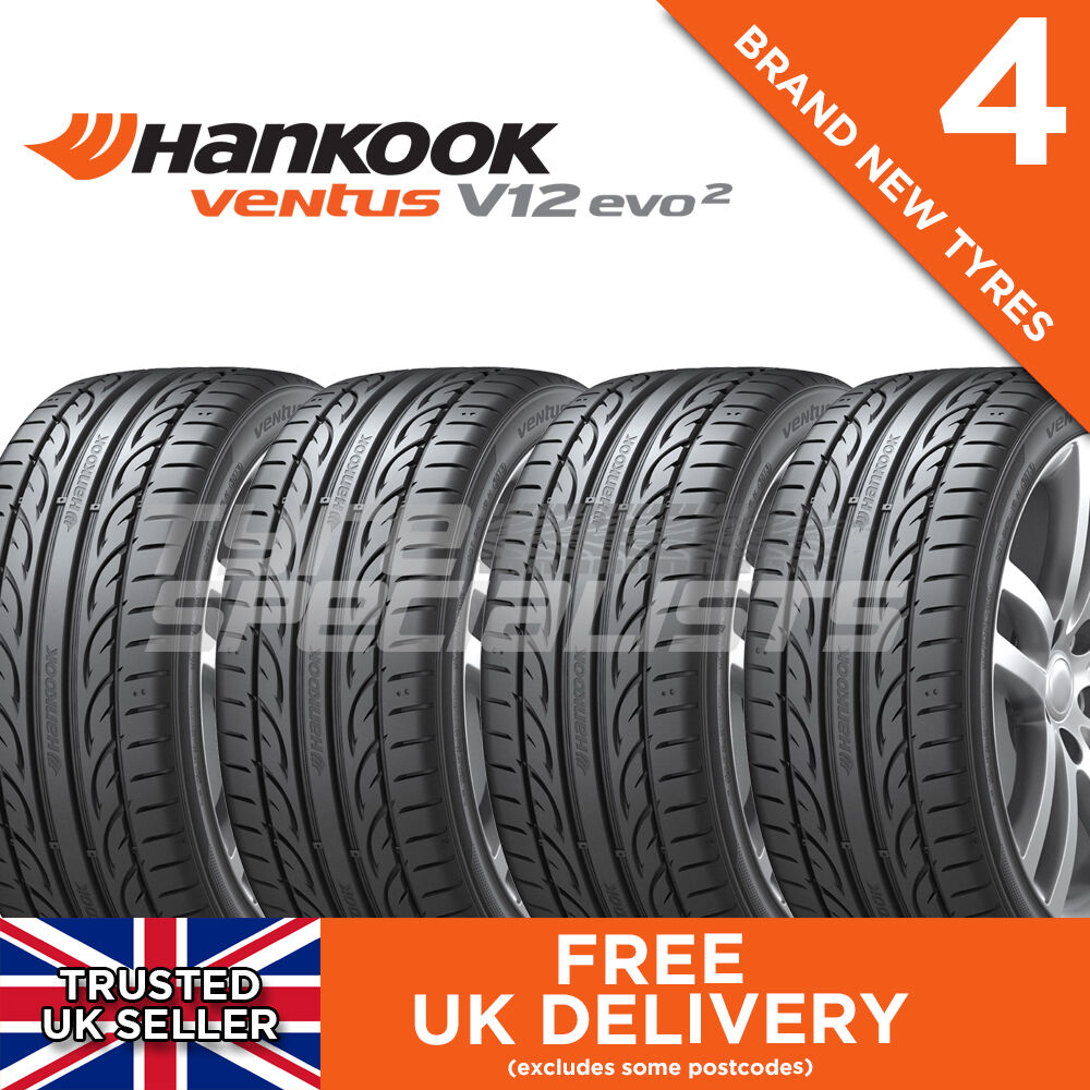4x new 225 45 17 hankook ventus v12 evo 2 k120 94y xl. Black Bedroom Furniture Sets. Home Design Ideas