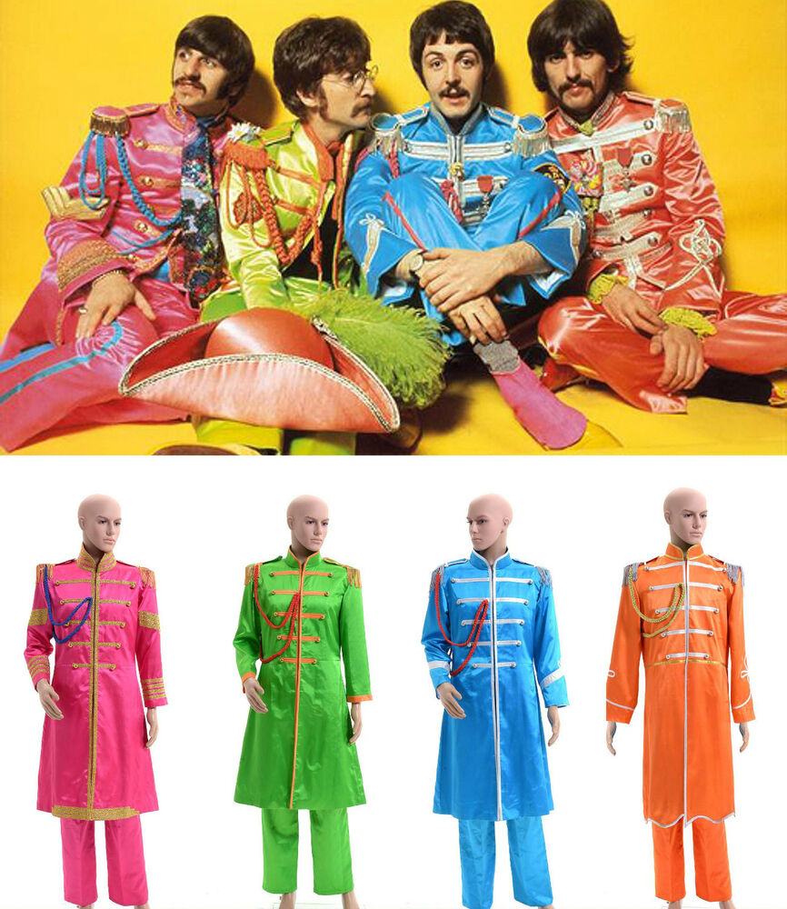 the beatles sgt pepper 39 s lonely hearts club band costume tailored ebay. Black Bedroom Furniture Sets. Home Design Ideas