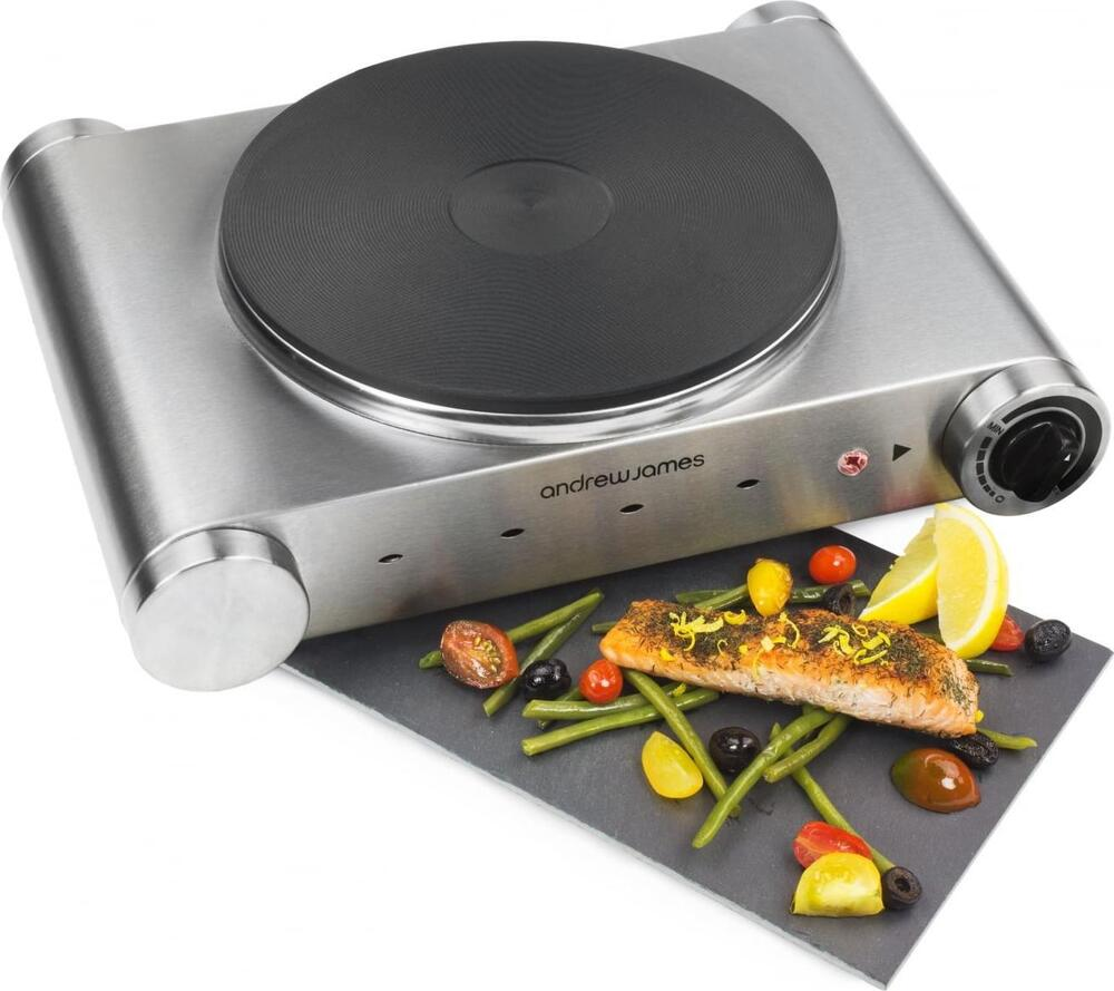 Portable Kitchen Hob ~ Andrew james electric single hob portable table top hot