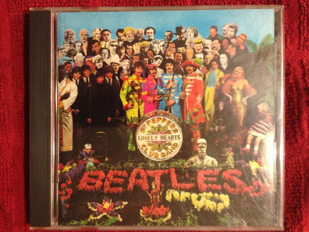 the beatles sgt pepper 39 s lonely hearts club band cd west germany 77774644228 ebay. Black Bedroom Furniture Sets. Home Design Ideas