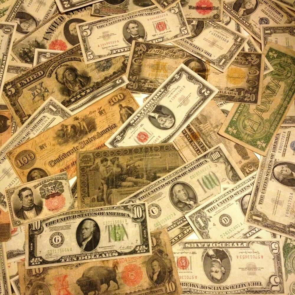 Where to buy old paper money