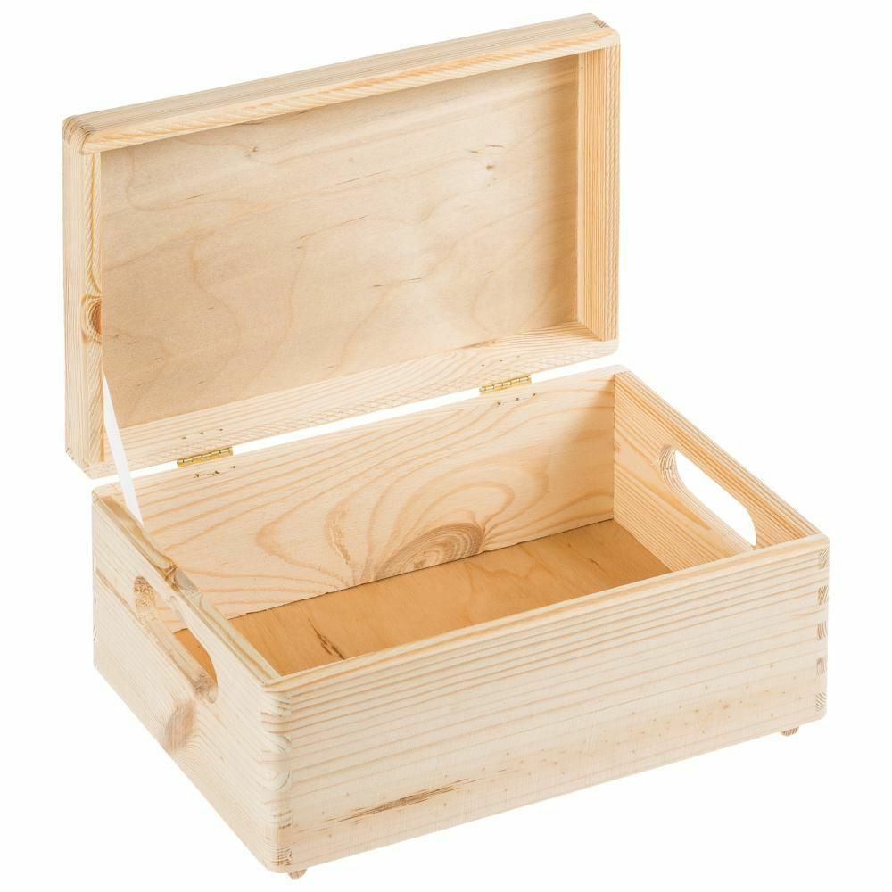 allzweckkiste aufbewahrung holz box holzbox holzkiste b 20 x l 30 x h 15 ebay. Black Bedroom Furniture Sets. Home Design Ideas