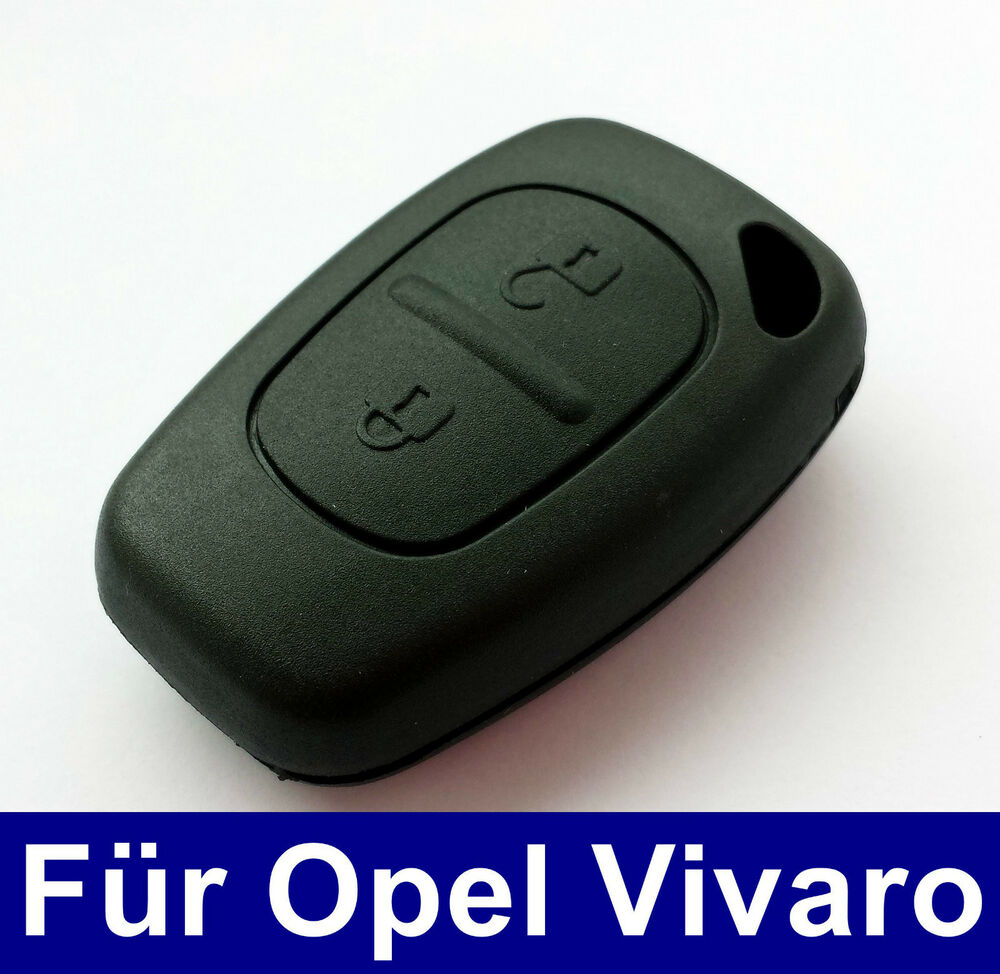 2tasten schl ssel fernbedienung geh use f r opel vivaro ebay. Black Bedroom Furniture Sets. Home Design Ideas