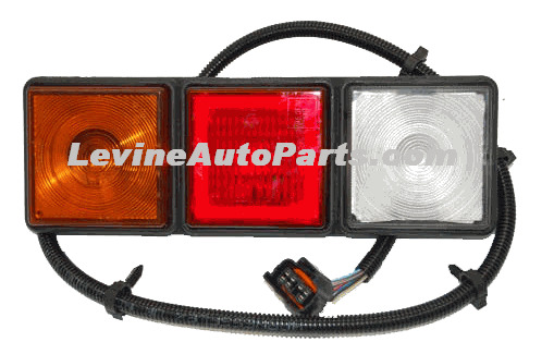Rear Tail Lights For Chevy With Dump Body Module Rubbolite