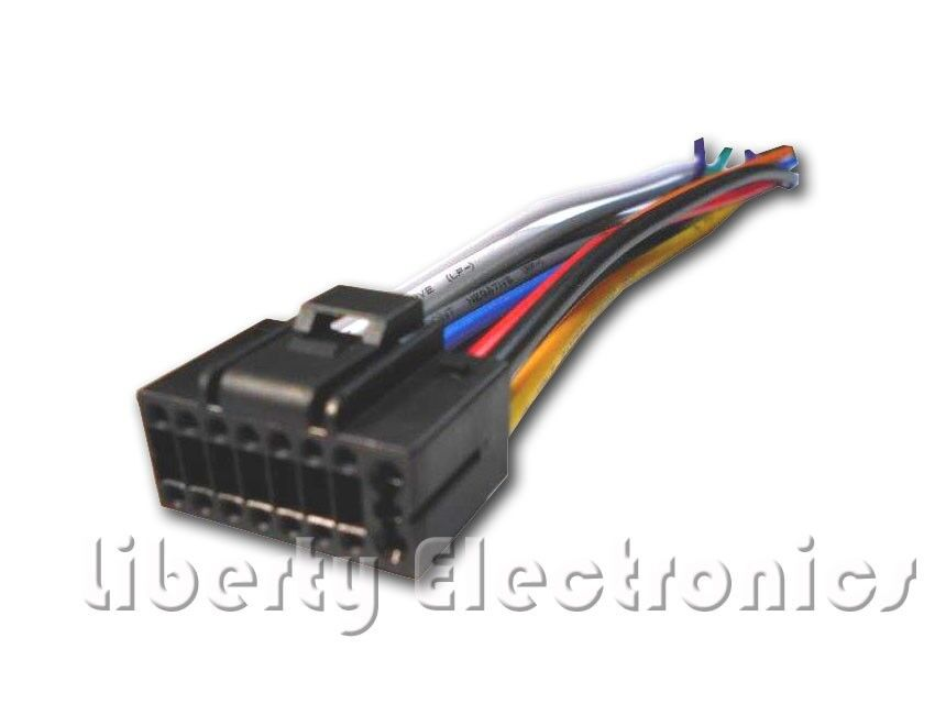 s l1000 new wire harness for jvc kd r330 kd r338 ebay jvc kd r330 wiring harness at bayanpartner.co