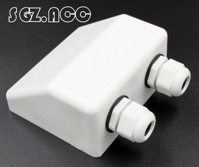 Waterproof Double Cable Entry Gland Cable Box For Solar