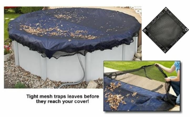 New Arctic Armor Above Ground Swimming Pool Winter Cover Leaf Net Round Or Oval Ebay