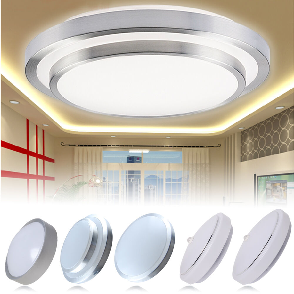 Wall Mounted Downlights : Modern 7W 12W /18W LED Ceiling Flush Mounted Wall Light Downlight Bedroom Lamp eBay