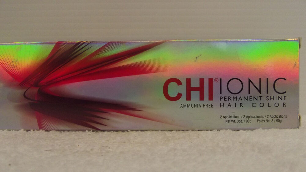 Original Chi Hair Color Permanent Shine Ionic Ammonia Free