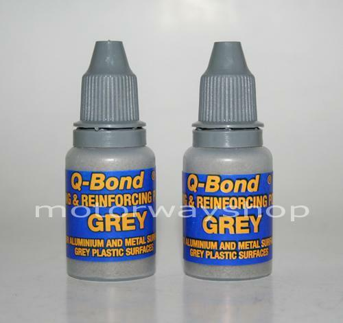 Q Bond Spare Grey Filler Powder Twin Pack Use With Q Bond