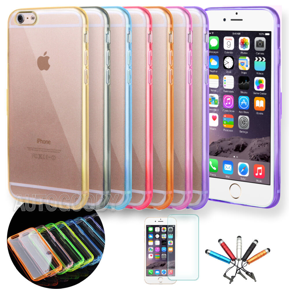 iphone 6 phone covers for iphone 6 6s 7 slim transparent clear tpu 3077
