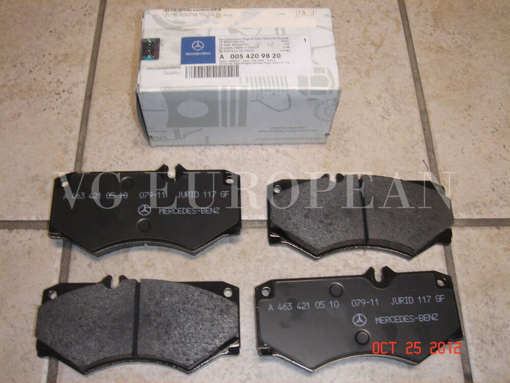Mercedes Benz Brake Pads Oem