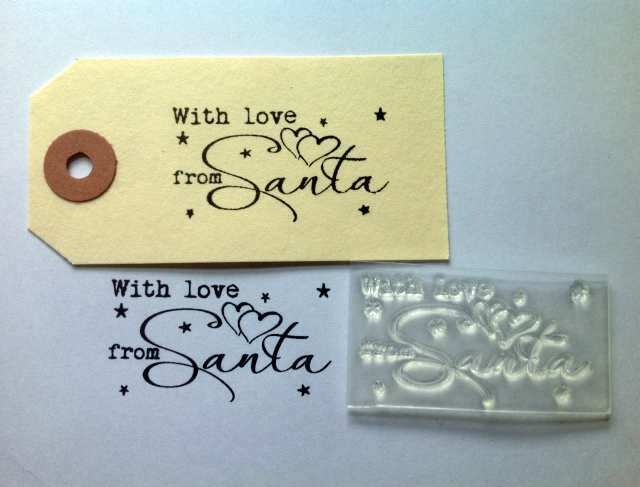 Rubber Stamp Christmas Cards