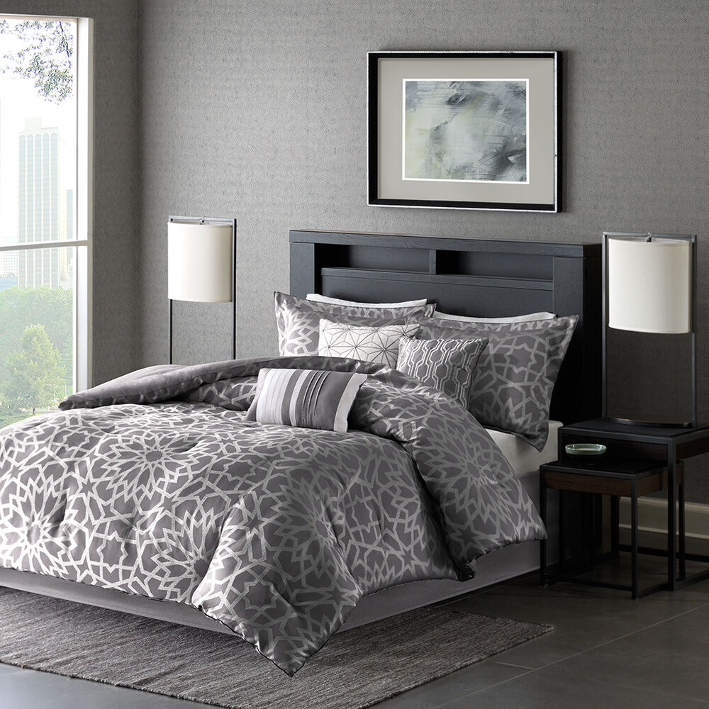 Beautiful Modern Elegant Chic Contemporary Charcoal Grey