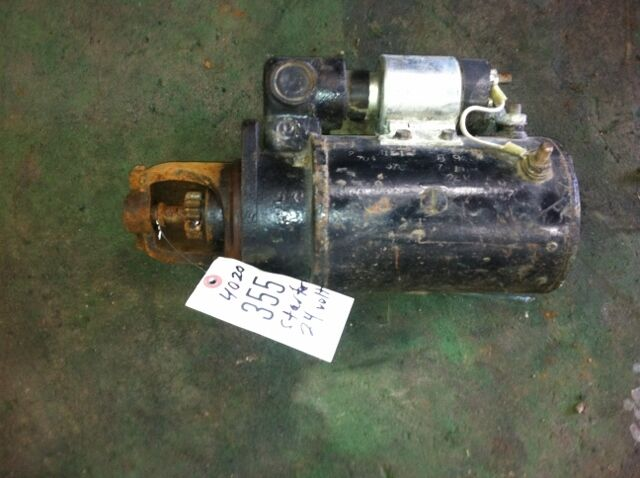 John Deere 24 Volt Starter Off 4020 Power Shift Item  355